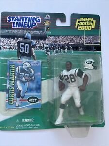 Starting Lineup 1999 CURTIS MARTIN #28 New York Jets 1st Football Green Collect