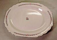 "PICK 1) W.S. George Lido Ceramic Dinnerware 14"" OR 12"" Oval Serving Platter"