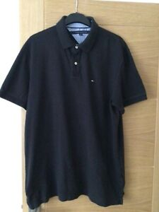 Tommy Hilfiger Size XL Black Polo Shirt