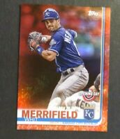 2019 Topps Opening Day Whit Merrifield Red Foil - Royals