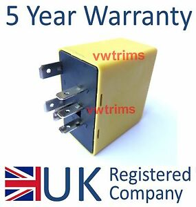 Flasher Hazard Indicator Relay Unit 9134880 6238590 Vauxhall Astra Corsa Vectra