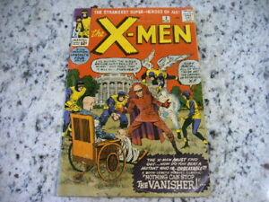 Vintage November 1963 No. 2 The X-Men Comic Book