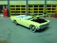 1/64 1965 Chevy Impala SS Cv./ Butternut Yellow White Int/327 Auto/Rubber WW