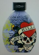 Ed Hardy Love Kills Slowly Time Released Bronzers Tanning Lotion +FREEBIE