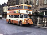PHOTO Selnec Northern AEC Regent V 6193 NDK993 in 1970s on route 11C