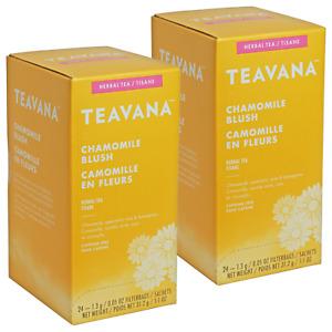 (Lot of 2) Teavana Chamomile Blush Tea | 24 Count Boxes