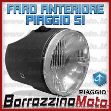 FARO FANALE ANTERIORE PIAGGIO 2 LUCI GRIGIO - NERO SI DAL 1978 - SI FL DAL 1988