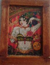 Casa De Muñecas una dama encantadora Circo (tatuado) imagen