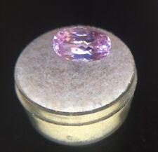 NATURAL Vivid Pink Kunzite 5.13ct Oval Cut Spodumene Loose Gem