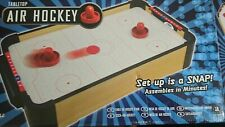 Tabletop Air Hockey - Wood table with battery operated fan