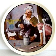 "Norman Rockwell ""The Cooking Lesson"" ~ *Limited Edition / Collector Plate*"
