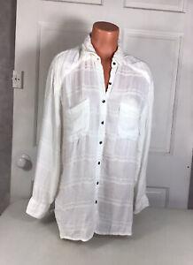 BILLABONG Australia Cotton Beach Shirt Womens Large