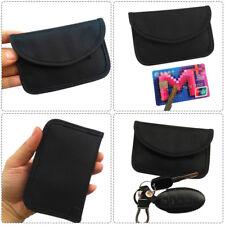 RFID Signal Blocking Bag RFID Signal Shielding Pouch Wallet Case for Car Key Fob