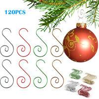 Decoration S-shaped Xmas Holder Ornament Hooks Christmas Tree Hangers