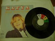 """KATYA""""MILLE VOLTE TI AMO-disco 45 giri CITY Italy 1970"""""""
