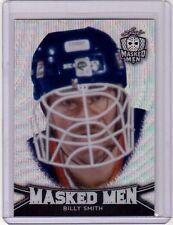 02d4ec1d6 BILLY SMITH 16 17 Leaf Masked Men Metal Insert Card  03 Wave Foil Prismatic