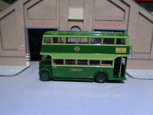 EFE 26402 LONDON TRANSPORT Diamler Utility Green Line  Rte 721 Brentwood 1/76 B2