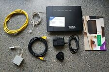 D LINK  SUPER ROUTER DSL-3782 D-LINK TALK TALK WIRELESS ROUTER  AND ACCESSORIES