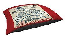 Manual Woodworkers & Weavers Fleece Top Lg Breed Pet Bed, Seas The Day