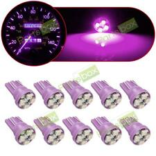 10x T10 Purple 194 2825 168 LED SMD Bulb Instrument Panel Cluster Dash Light