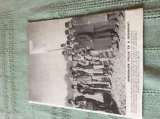 m10a ephemera ww1 picture 1917 jerusalem surrender lone british officer