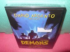 demons  - argento - bava - dvd
