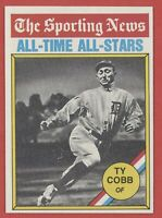 1976 Topps #346 Ty Cobb ATG All Time All Stars