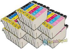 42 t0791-t0796' búho' Los Cartuchos De Tinta Compatible no-OEM Epson Stylus 1400