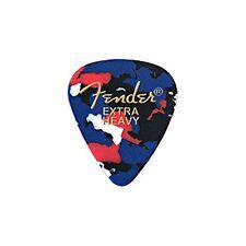 Fender 351 Shape Classic Picks Confetti Extra Heavy Pick 12 set