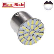 10X S25 1157 3014-22 SMD Pure White LED Car Stop Tail Turn Brake Light Lamp Bulb