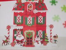 Creatology Foam Shapes 3D Structure Christmas House Santa Elf Kids Craft 240 Pc