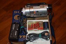 Sony Handycam DCR-TRV840 Digital-8 Camcorder Tested Hi8 With Tape