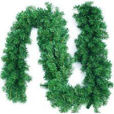 2x Weihnachtsgirlande Tannengirlande Girlande je 270cm 180 spitzen