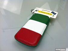 Galeli FIFA WM Handytasche für iPhone 5/5s, Echtleder, Handarbeit, Italien Italy