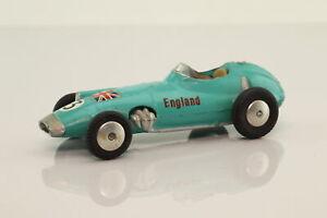 Corgi Toys 152s; BRM Formula 1 Racing Car; Light green; V Good Unboxed