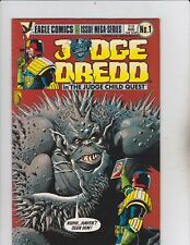 Eagle Comics! Judge Dredd! Issue 1!