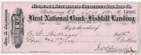 CIVIL WAR General John Schultze 1891 Signed Railroad Draft
