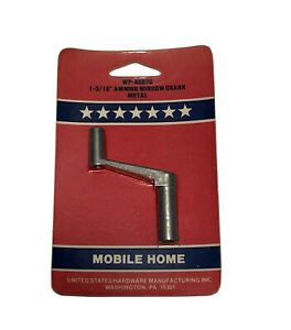 Metal Awning Window Crank WP8887C United States Hardware Mobile Home Trailer NIP
