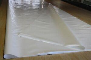 LKW Plane Abdeckplane PVC Folie Holzplane schutz 700gr/m² milchweiß 2,45m/4,50m