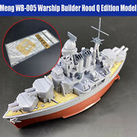 DIY Holzdeck Wooden Deck Hood Q Edition Assembly für Meng WB-005 Warship Modell