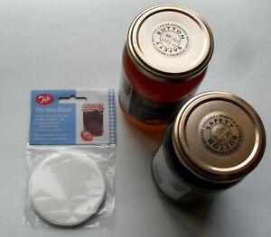 Tala 2lb Wax Discs Circles Jam Preserves Pickles Chutney Making Jar Seals Pk 200