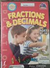 Pc Computer Educational Game Maths Fractions And Decimals Learning Age 8 To 14