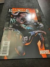MARVEL ULTIMATE NIGHTMARE ISSUE 3 COMIC BOOK!   e3347UXX
