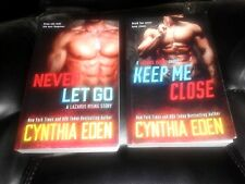 2 Lazarus Rising novels-Cynthia Eden-2017 Keep Me Close & 2017 Never Let Go-TSP