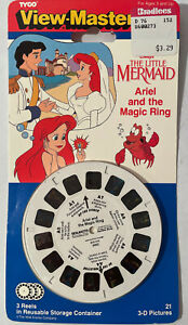 Tyco View-Master Disney's The Little Mermaid Ariel and the Magic Ring NOS
