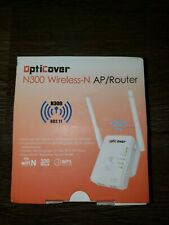 OptiCover WiFi Extender with WPS Internet Signal Booster