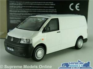 VOLKSWAGEN VW T5 MODEL VAN WHITE 1:43 SCALE SUITABLE FOR CODE 3 CARARAMA K8