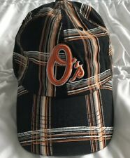 MLB Baltimore Orioles Forty Seven Brand Plaid Franchise Hat Cap Medium