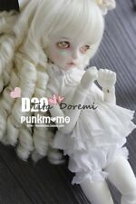 Bjd Doll Wig 1/3 8-9 Dal Pullip AOD DZ AE SD DOD LUTS Dollfie white Toy Hair