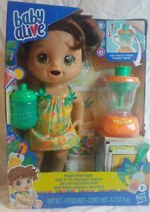 Hasbro Baby Alive Magical Mixer Baby Doll Tropical Treat E6944
